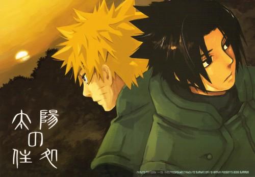 10-Rankai, Naruto, Sasuke Uchiha, Naruto Uzumaki, Doujinshi Cover