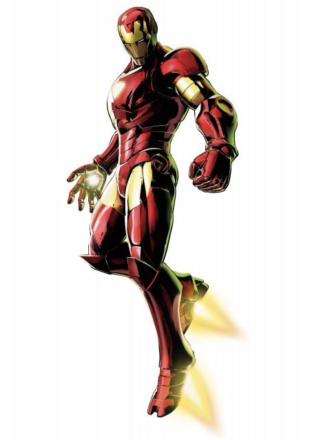 Marvel, Marvel vs Capcom 3, Iron Man (Character)