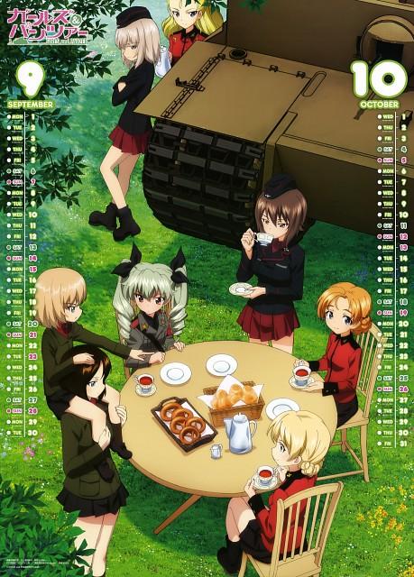 Takeshi Itou, Actas, GIRLS und PANZER, GIRLS und PANZER 2014 Calendar, Orange Pekoe (GIRLS und PANZER)