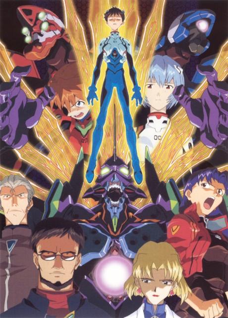 Yoshiyuki Sadamoto, Neon Genesis Evangelion, Die Sterne, Misato Katsuragi, Unit-00