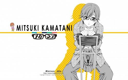 Atsuko Nakajima, Studio Deen, Meganebu!, Mitsuki Kamatani, Official Wallpaper