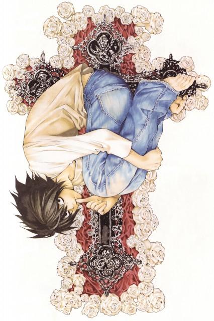 Takeshi Obata, Death Note, Blanc et Noir, L