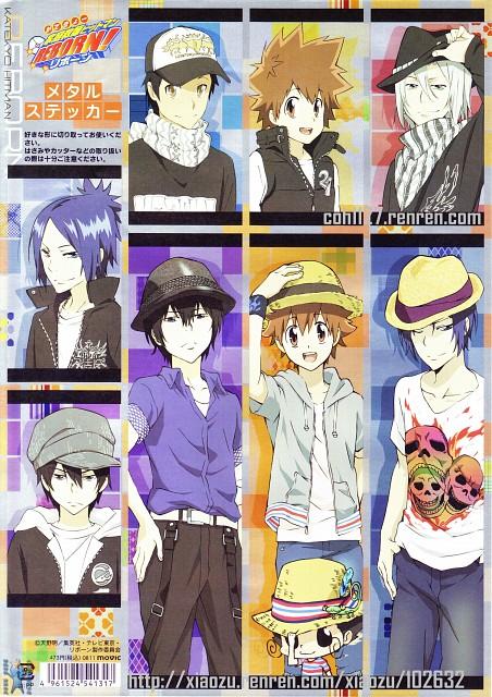 Akira Amano, Artland, Katekyo Hitman Reborn!, Mukurou, Hayato Gokudera