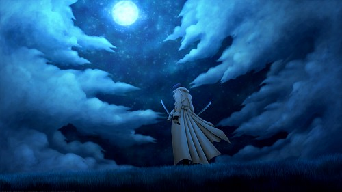 Nobuhiro Watsuki, Studio Gallop, Studio Deen, Rurouni Kenshin, Aoshi Shinomori Wallpaper