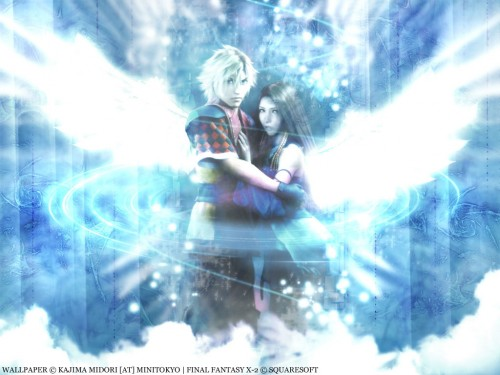 Square Enix, Final Fantasy X-2, Lenne, Shuyin Wallpaper