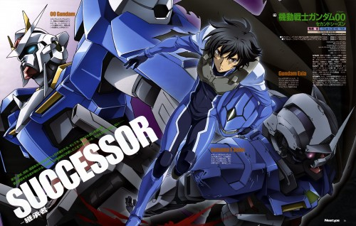 Sunrise (Studio), Mobile Suit Gundam 00, Setsuna F. Seiei, Magazine Page, Newtype Magazine