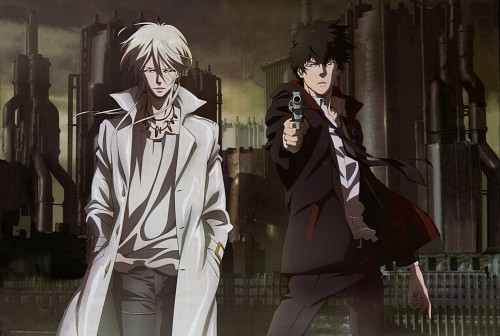 Production I.G, PSYCHO-PASS, Shougo Makishima, Shinya Kougami, Newtype Magazine