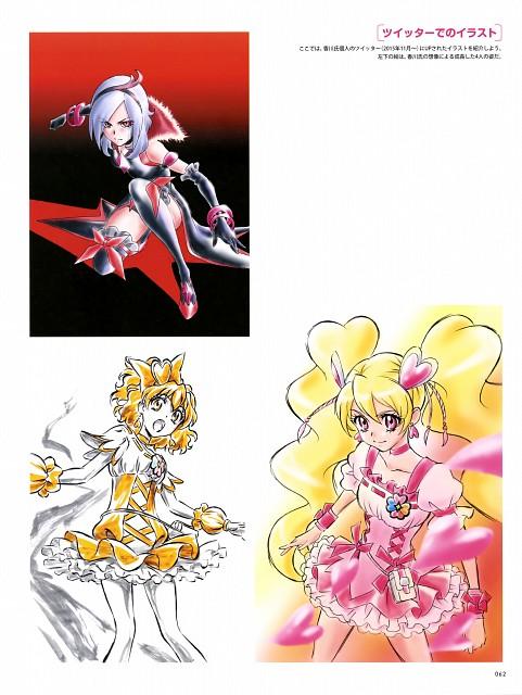 Fresh Precure!, Hisashi Kagawa Toei Animation Precure Works, Cure Pine, Cure Peach, Eas