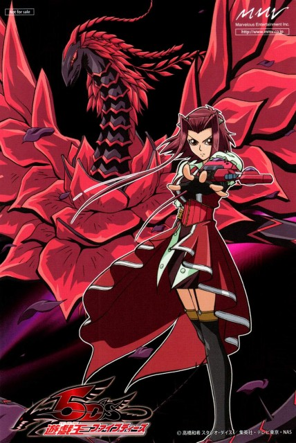 Kazuki Takahashi, Studio Gallop, Yu-Gi-Oh! 5D's, Aki Izayoi