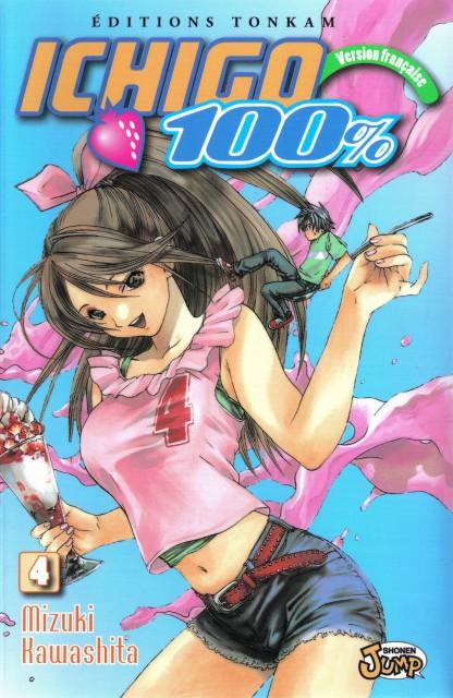 Mizuki Kawashita, Ichigo 100 Percent, Satsuki Kitaoji, Manga Cover