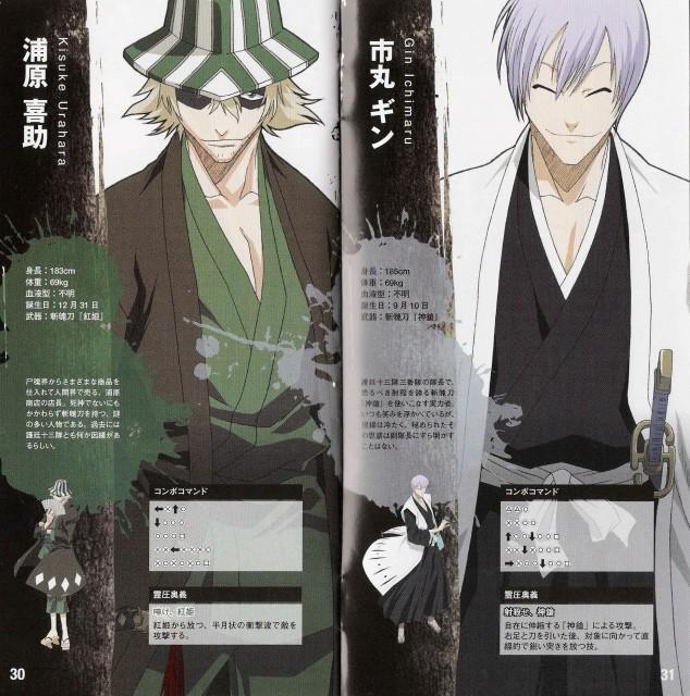 Studio Pierrot, Bleach, Gin Ichimaru, Kisuke Urahara