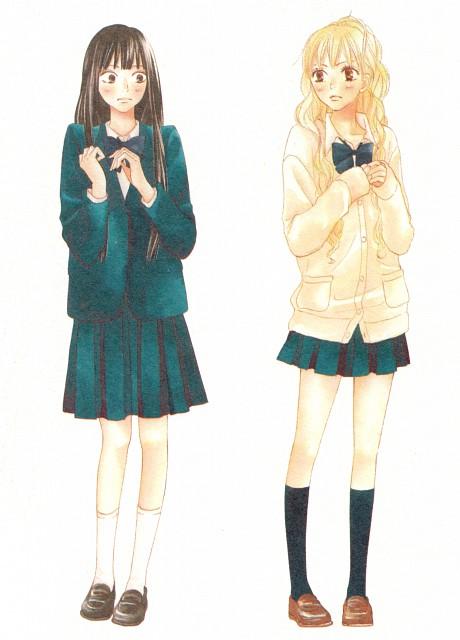 Karuho Shiina, Kimi ni Todoke, Ume Kurumizawa, Sawako Kuronuma
