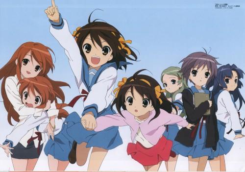 Yukiko Horiguchi, Kyoto Animation, The Melancholy of Suzumiya Haruhi, Haruhi Suzumiya, Ryoko Asakura