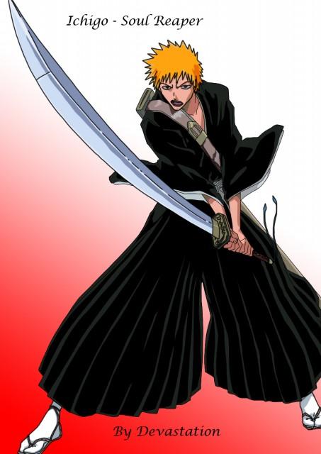 bleach ichigo soul reaper minitokyo