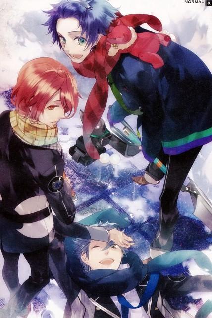 Kazuaki, Starry Sky, Tsubasa Amaha, Kazuki Shiranui, Hayato Aozora