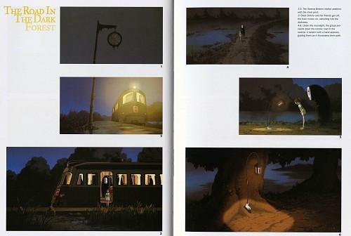 Studio Ghibli, Studio Hibari, Spirited Away, The Art of Spirited Away, Kaonashi