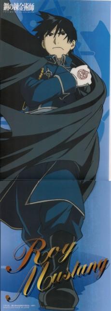 Hiromu Arakawa, BONES, Fullmetal Alchemist, Roy Mustang, Stick Poster