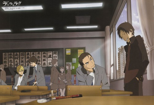 Suzuhito Yasuda, Brains Base, DURARARA!!, Shinra Kishitani, Izaya Orihara