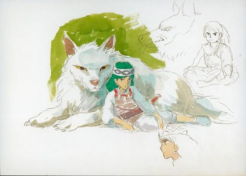 Hayao Miyazaki, Studio Ghibli, Princess Mononoke, Moro, San