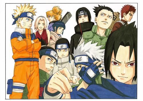 Masashi Kishimoto, Naruto, NARUTO Illustrations, Sakura Haruno, Sasuke Uchiha
