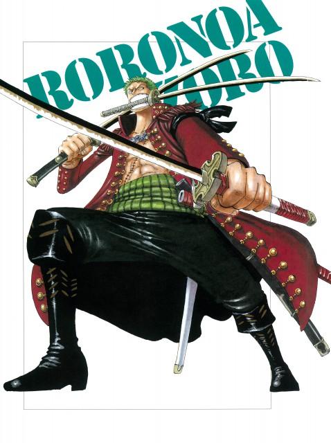 Eiichiro Oda, Toei Animation, One Piece, Color Walk 4 - Eagle, Roronoa Zoro