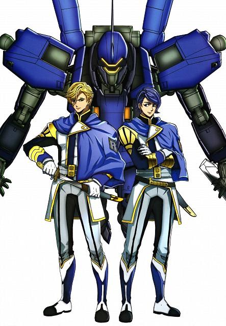 Kazuma Isobe, Sunrise (Studio), Mobile Suit Gundam: Iron-Blooded Orphans, Gundam Ace Iron-blooded Orphans Illustration Collection, Gaelio Bauduin