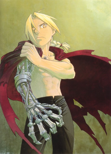 Hiromu Arakawa, BONES, Fullmetal Alchemist, Fullmetal Alchemist Artbook Vol. 2, Edward Elric