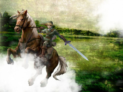Nintendo, The Legend of Zelda: Twilight Princess, The Legend of Zelda, Epona, Link Wallpaper