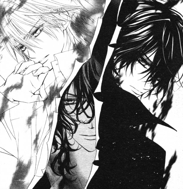 Matsuri Hino, Vampire Knight, Zero Kiryuu, Ridou Kuran, Kaname Kuran