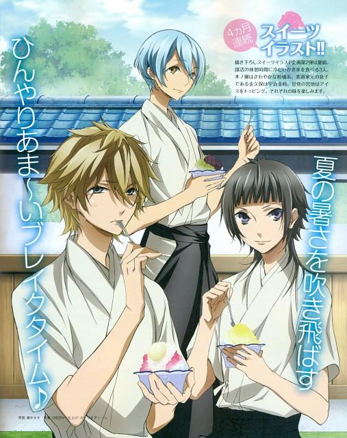 Starry Sky, Azusa Kinose, Homare Kanakubo, Ryunosuke Miyaji