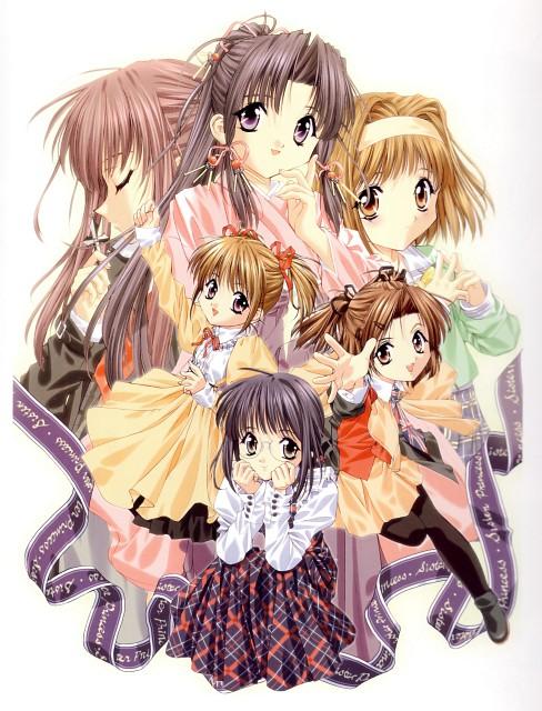Naoto Tenhiro, Sister Princess, The Art of Sister Princess, Hinako, Haruka (Sister Princess)