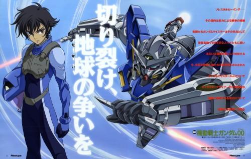 Seiichi Nakatani, Sunrise (Studio), Mobile Suit Gundam 00, Setsuna F. Seiei, Newtype Magazine