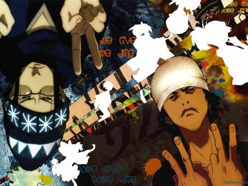Manglobe, Samurai Champloo, Fuu, Mugen, Jin Wallpaper