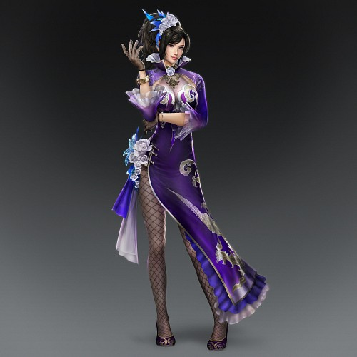 Koei, Dynasty Warriors, Zhen Ji, Official Digital Art