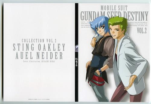 Hisashi Hirai, Sunrise (Studio), Mobile Suit Gundam SEED Destiny, Sting Oakley, Auel Neider