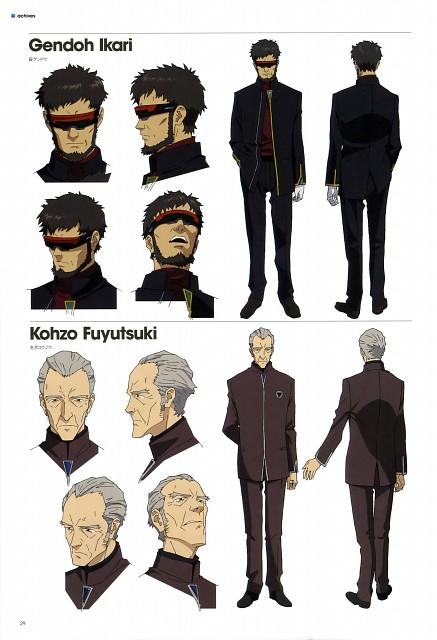 Khara, Gainax, Neon Genesis Evangelion, Evangelion 3.0 Theatrical Booklet, Kouzou Fuyutsuki