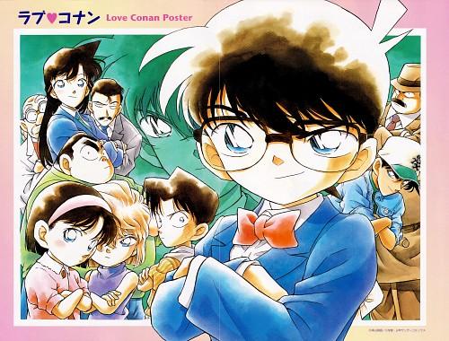 Gosho Aoyama, TMS Entertainment, Detective Conan, Genta Kojima, Shinichi Kudou