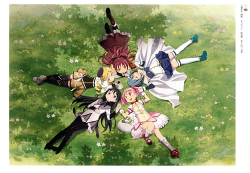 Shaft (Studio), Puella Magi Madoka Magica, Key Animation Note Vol 6, Sayaka Miki, Madoka Kaname