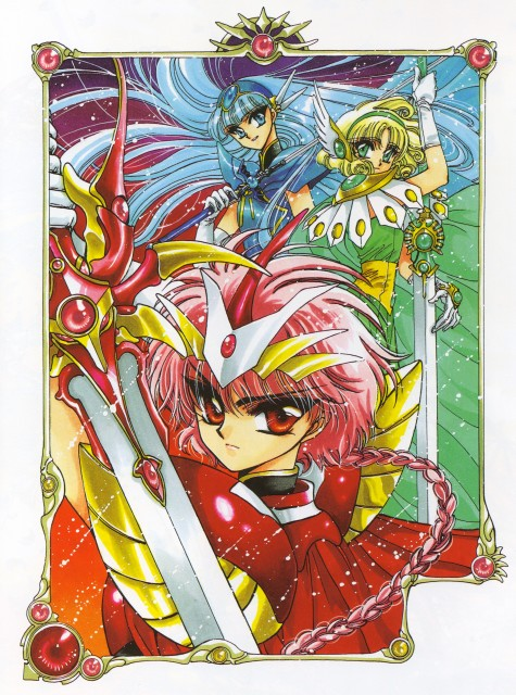 CLAMP, TMS Entertainment, Magic Knight Rayearth, Magic Knight Rayearth 2 Illustrations Collection, Umi Ryuuzaki