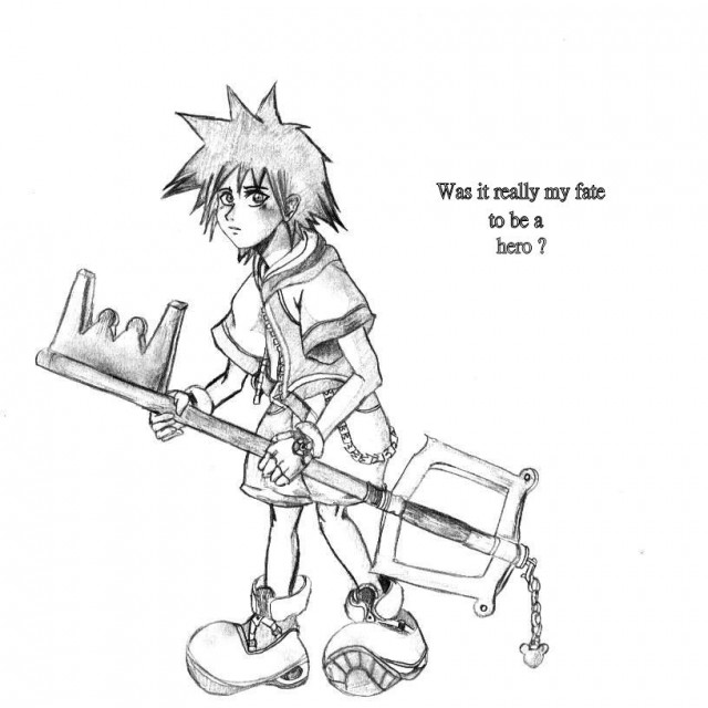 Kingdom Hearts, Sora, Member Art