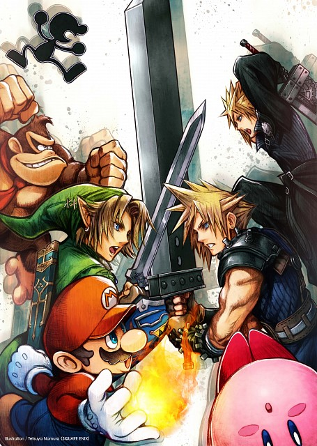 Square Enix, Final Fantasy VII: Advent Children, Final Fantasy VII, Donkey Kong, Super Mario