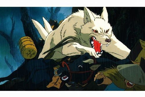 Studio Ghibli, Princess Mononoke, Princess Mononoke Postcard Collection, Moro, Postcard