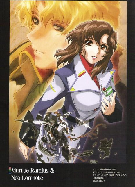 RGB, Mobile Suit Gundam SEED Destiny, Murrue Ramius, Mu La Flaga