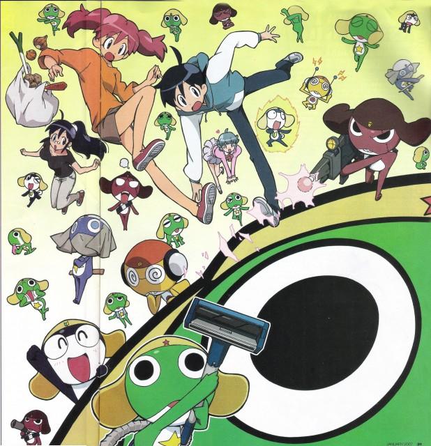 Mine Yoshizaki, Keroro Gunsou, Aki Hinata, Tamama, Natsumi Hinata