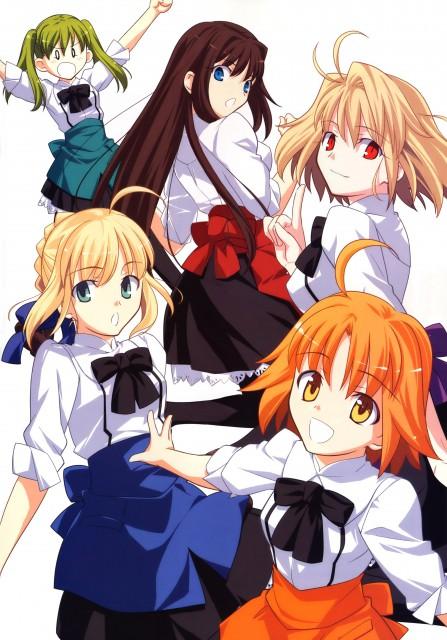 TYPE-MOON, Mahou Tsukai no Hako, Mahou Tsukai no Yoru, Shingetsutan Tsukihime, Fate/stay night