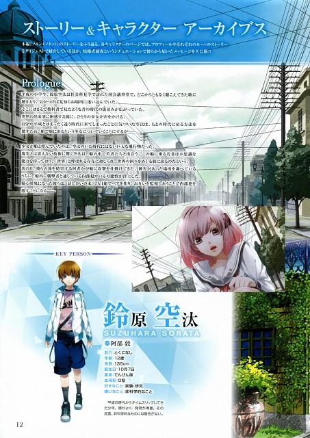 Teita, Idea Factory, NORN9 Premium Book, NORN9, Sorata Suzuhara