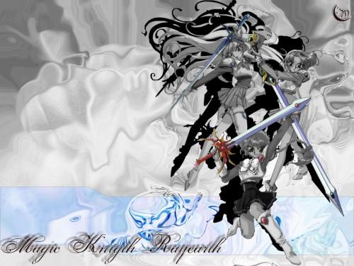 CLAMP, Magic Knight Rayearth, Hikaru Shidou, Fuu Hououji, Umi Ryuuzaki Wallpaper