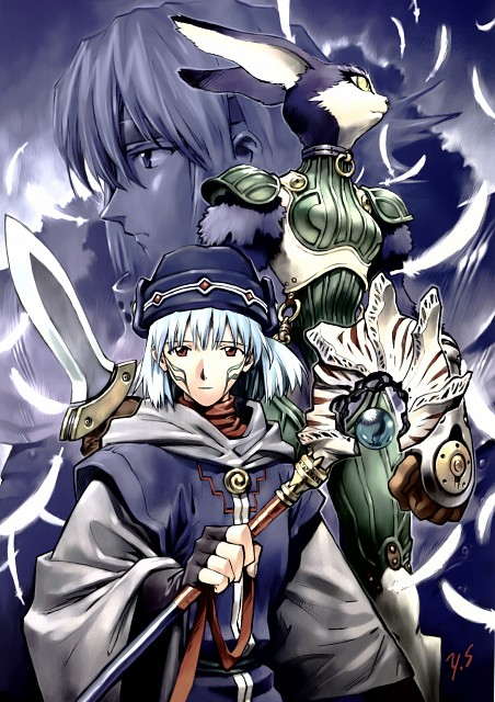 Yoshiyuki Sadamoto, Carmine, .hack//Infection, Balmung, Mia
