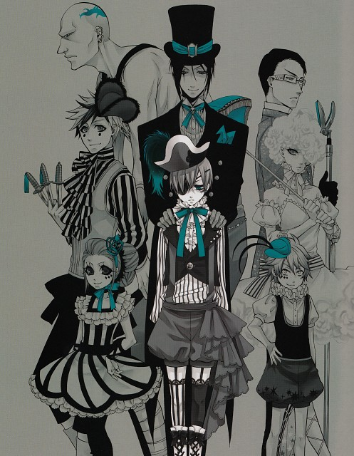 Yana Toboso, Kuroshitsuji, Black Butler Artworks 1, Ciel Phantomhive, Peter
