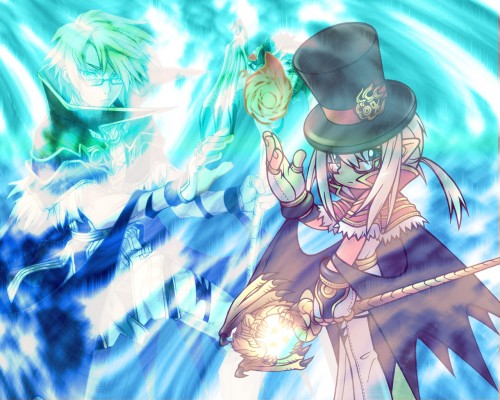 Browse High Wizard Wallpapers Minitokyo